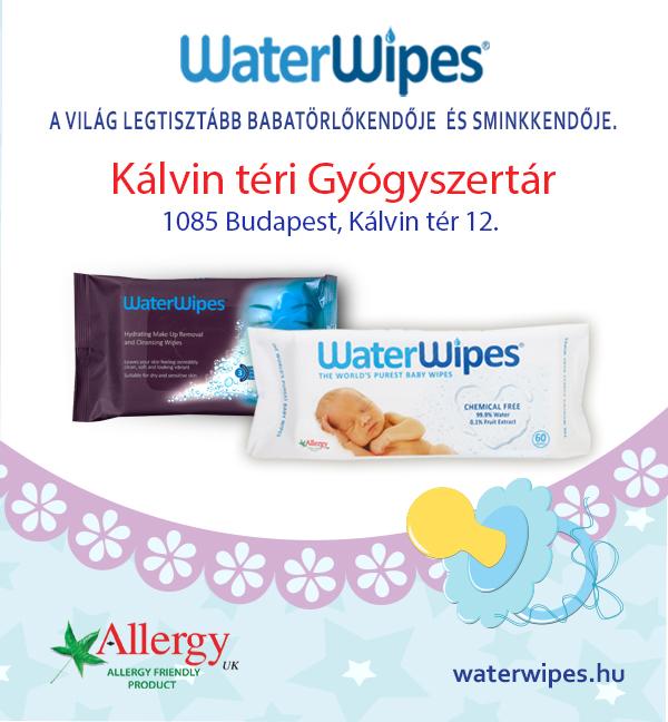 WaterWipes a Kálvin Téri Gyógyszertárban