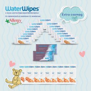 WaterWipes Természetes Törlőkendő Extra Csomag