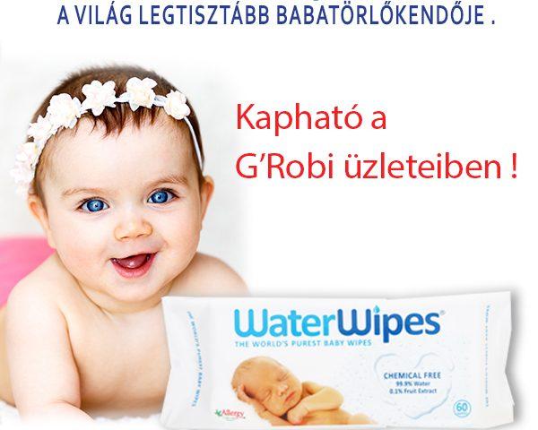 WaterWipes GRoby Üzletekben (2)