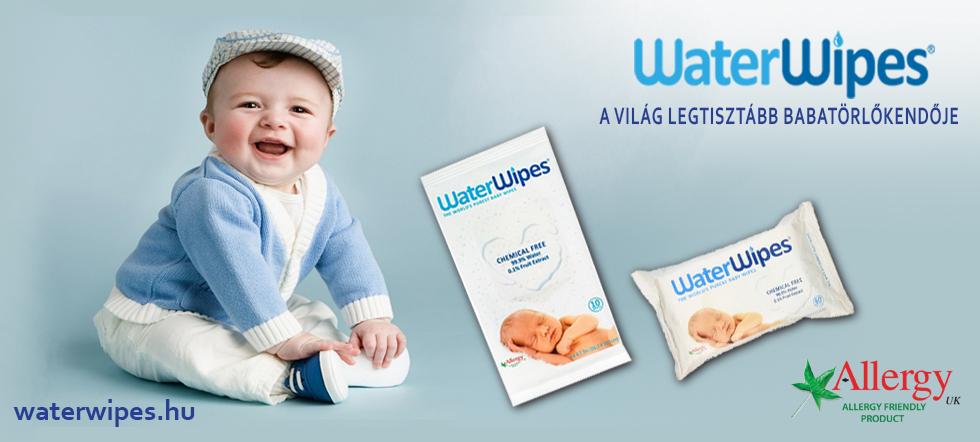 WaterWipes Világ legtermészetesebb baba törlőkendője