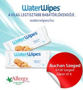 WaterWipes Törlőkendő Szegeden az Auchanban