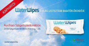 WaterWipes Törlőkendő a Szigetszentmiklósi Auchanban