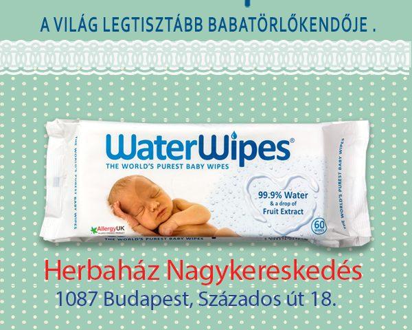 WaterWipes Baba Törlőkendők a Herbaházban