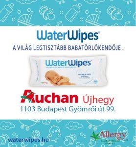 WaterWipes Kőbányán az Auchan Újhegy Bevásárlóközpontban