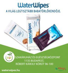 WaterWipes a BIJO Szakáruházban Budapesten