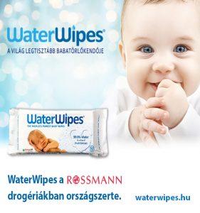 WaterWipes Törlőkendő a ROSSMANN Drogériákban