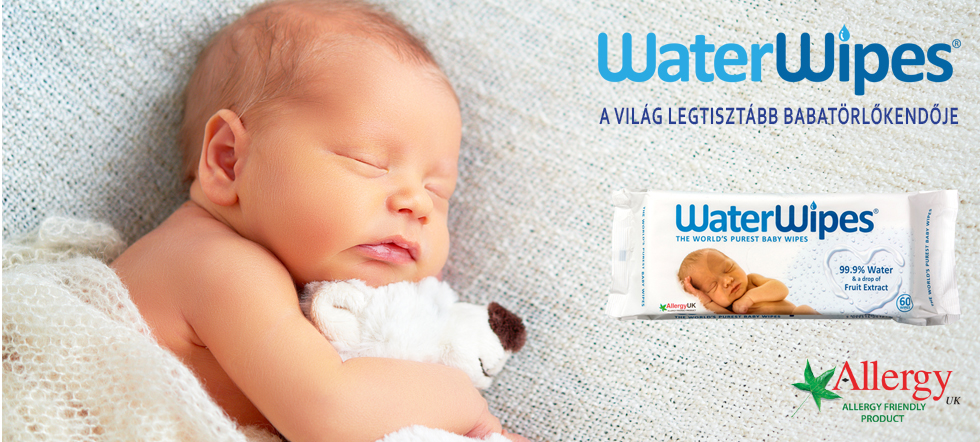 WaterWipes Babatörlőkendő