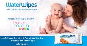 Találkozz a WaterWipes Standjával a Baba Mama Expon Web