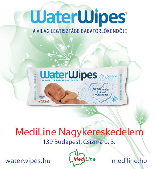 WaterWipes Babatörlőkendő a Mediline Polcain