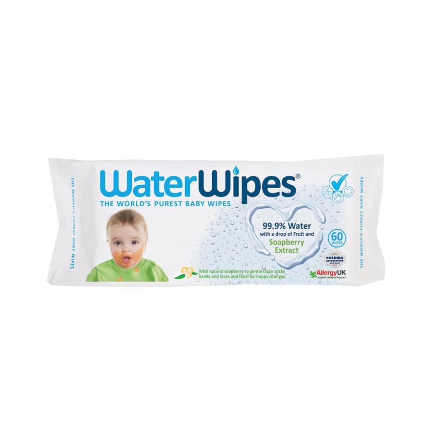 WaterWipes Soapberry Természetes Törlőkendő