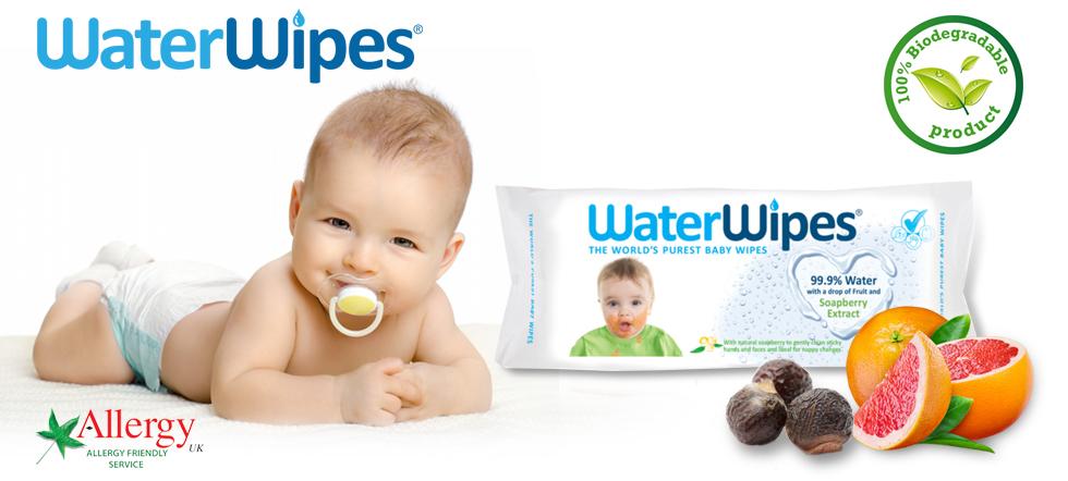 WaterWipes Szappanbogyó Törlőkendő