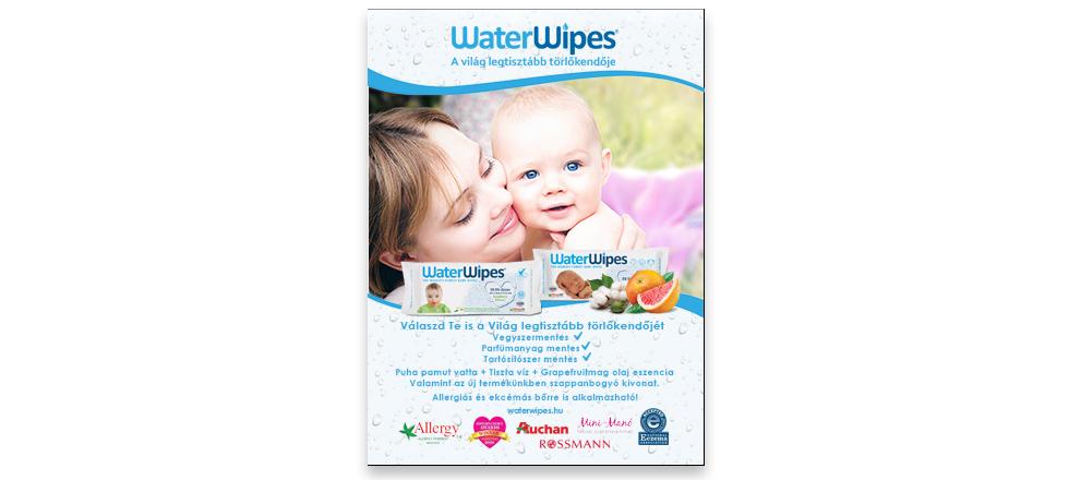 WaterWipes - MiniManó Bébi Guru Magazin 2018