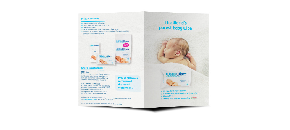WaterWipes Flyer 2016