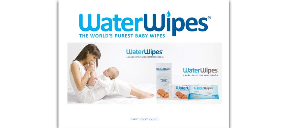 WaterWipes Termékbemutató Prezentáció 2016