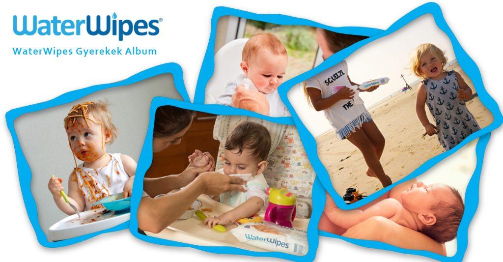 WaterWipes Gyermek Fotók Album