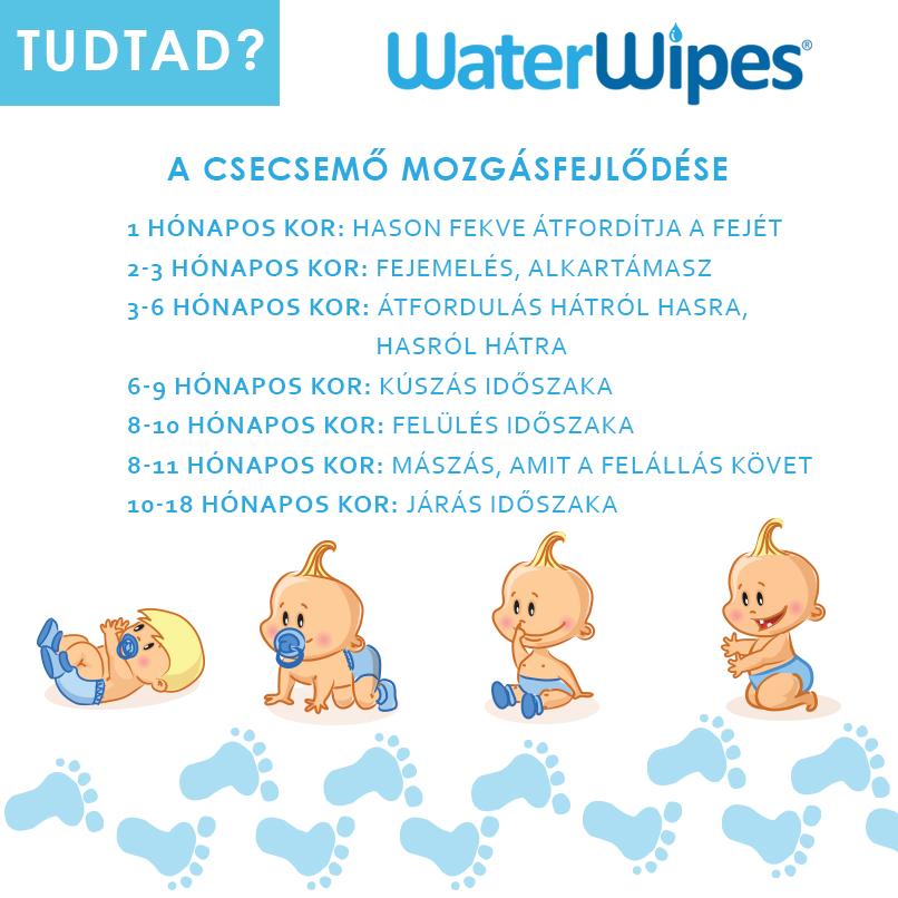 Csecsemő Mozgásfejlődése - WaterWipes Post