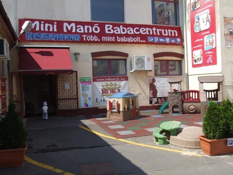 Mini Mano Babacentrum WaterWipes