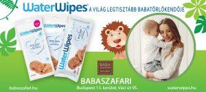 WaterWipes a Babaszafari Üzletekben